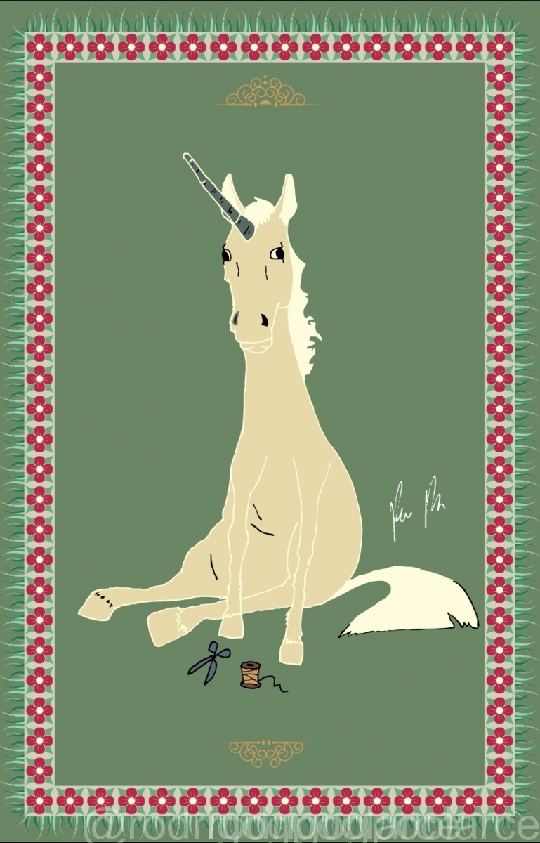 dumb-unicorn poster